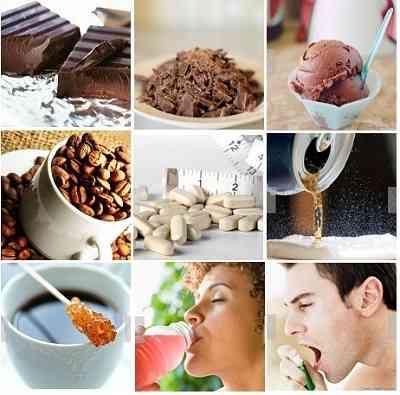 caffeine+foods